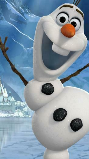 olaf mobile phone hd wallpaper 1080x1920 frozen