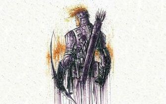 The avengers hawkeye arrows white background archer wallpaper