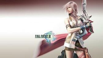 FFXIII   Lightning Wallpapers
