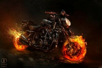 Jerad S Marantz Ghost Rider Spirit of Vengeance designs