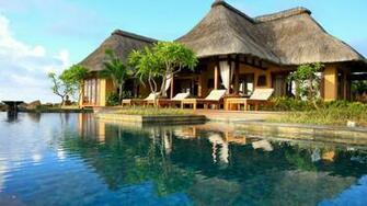 Tropical resort wallpaper 17417