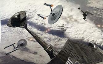 Star Trek Starship Enterprise Spaceship battle wallpaper 1920x1211