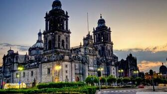 Mexico City Cathedral 4K HD Desktop Wallpaper for 4K Ultra HD