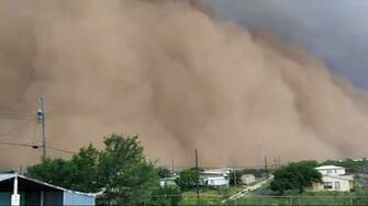 Viewer shares video of Haboob hitting Big Spring