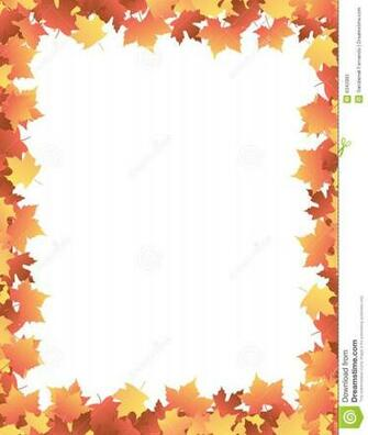 Autumn Leaves Border Clipart Wallpapers Gallery