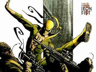Iron Fist Action Wallpaper