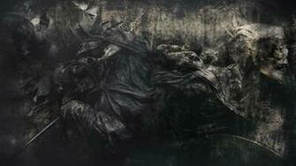 skulls evil skeleton reaper grim horror dead death gothic wallpaper