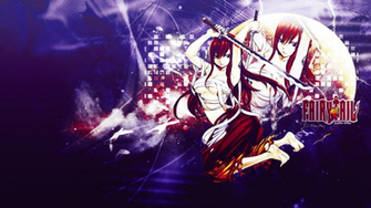 Fairy Tail Erza Wallpaper by Lunaris Pulvis