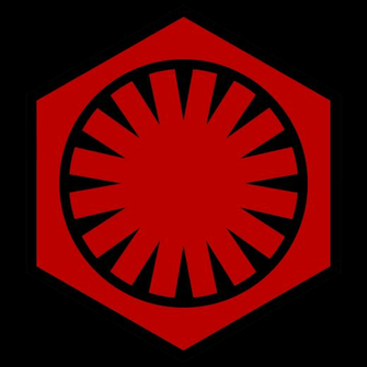 Emblem of the First Order Star Wars VII by RedRich1917