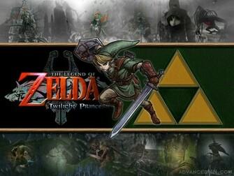 Pix For Link And Zelda Twilight Princess Wallpaper