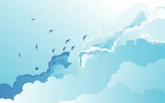 1440x900 Cloud Birds desktop PC and Mac wallpaper