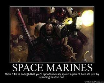 warhammer 40k space marines by blackcore11