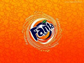Fanta logo Download PowerPoint Backgrounds   PPT Backgrounds