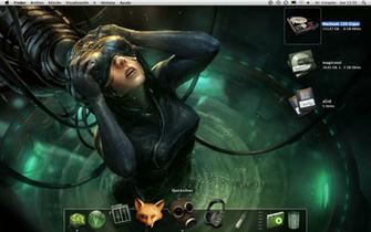 Cyberpunk Desktop by MagicSoul