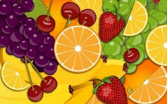 Fruit wallpaper   Vector wallpapers   1245