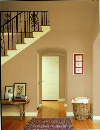 Dunn Edwards Paints paint colors Wall Warm Butterscotch DE6151 Trim