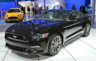 2015 ford mustang black wallpaper design very suitable as a wallpaper