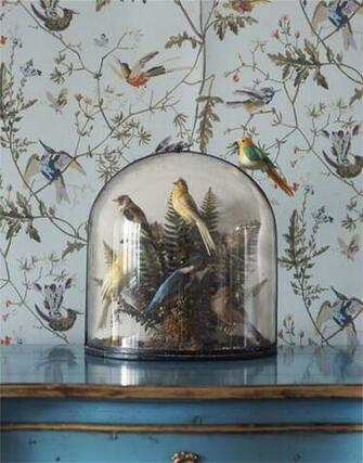 Cole Son Hummingbirds wallpaper Wall Inspiration Pinterest