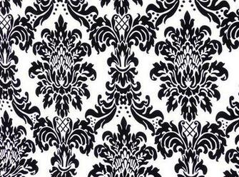 Wallpaper Velvet Flocked Wallpaper Design With Color Black And White