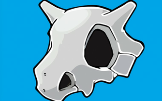 Cubone Wallpaper Cubone skull vector wallpaper