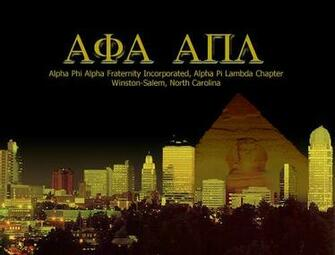 Alpha Phi Alpha Fraternity Inc Alpha Pi Lambda Chapter