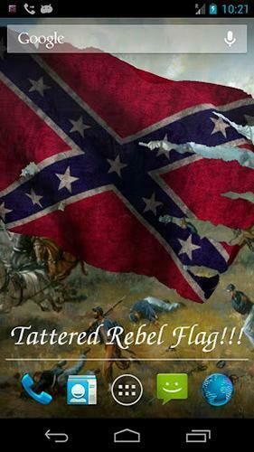 Rebel flag   Live wallpaper screenshots How does it look Rebel flag
