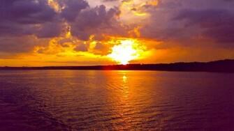 Ocean Sunset wallpaper   578141