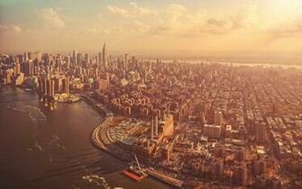 Vintage City Skyline Wallpaper High Definitions Wallpapers