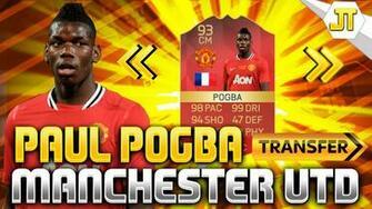 Paul Pogba Wallpaper 2016 Manchester United Spieler Bild Idee