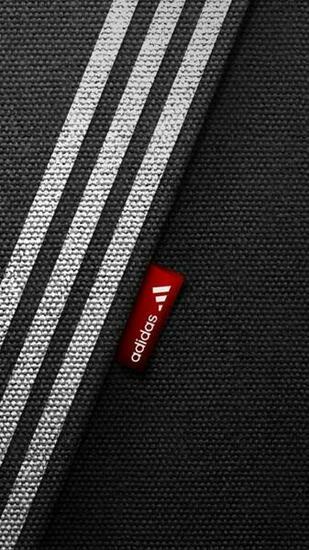 Download Wallpaper 750x1334 Adidas Brand Logo Sports