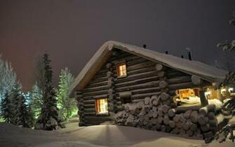 FunMozar Log Cabin Wallpapers