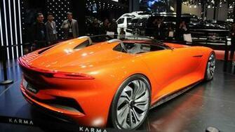 Karma SC1 Vision Concept Photos Videos