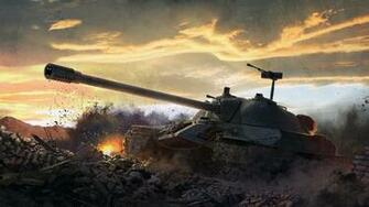 Picture World of Tanks SPG Jagdpanzer E Games Art Wallpapers