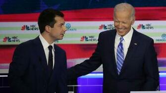 Joe Biden Pete Buttigieg reminds me of my son Beau   Axios