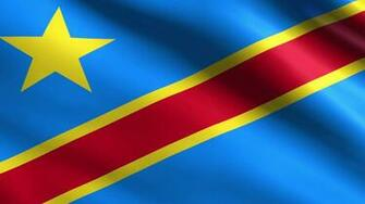 Democratic Republic of the Congo Flag   Wallpaper High Definition