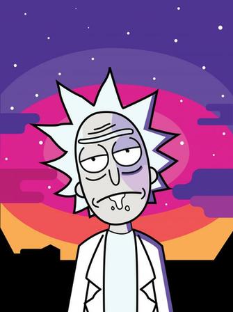 New android Wallpaper Rick and Morty Kezanaricom
