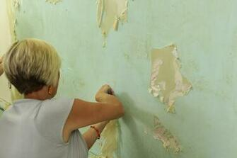 How To Remove Wallpaper The Easy Way   East Coast Creative Blog