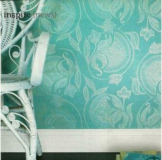 Brocade wallpaper For the Home Pinterest