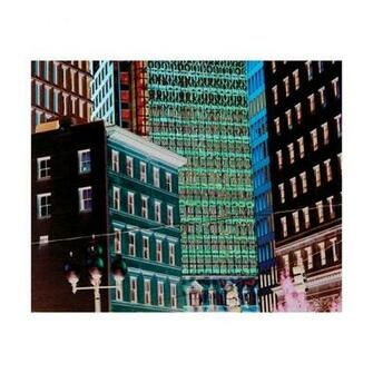 WE5022 Pop Art Night City Removable Wallpaper Mural Lowes Canada