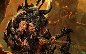 Diablo 3 Barbarian wallpaper   876956
