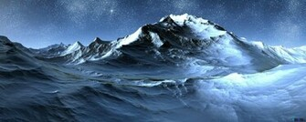 Download Wallpaper Antarctica at Night 2560 x 1024 Dual Monitor