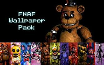FNAF Wallpaper Pack by xquietlittleartistx