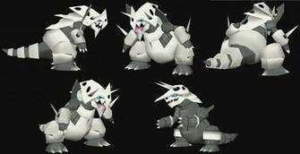 Mega Aggron papercraft Model preview by javierini on