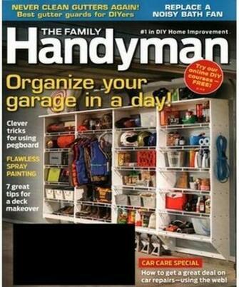 Family Handyman Magazine 499 A Year Southern Savers