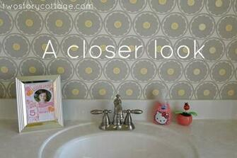 love wallpaper for accent decorating And I love getting rid of big