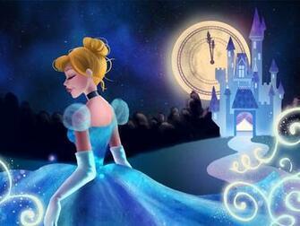 Almost Midnight Cinderella Inspired Wallpaper