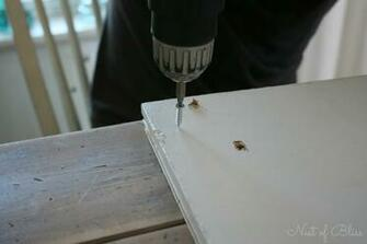 Tip We used clamps on our doors as the wood glue dried this is