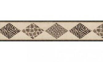 Home Animal Print Wallpaper Border B21516