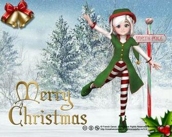 Christmas elf wallpaper Ultimate Desktop Wallpaper Gallery