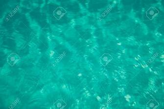 Abstract Water Blurred Emerald Background Stock Photo Picture And